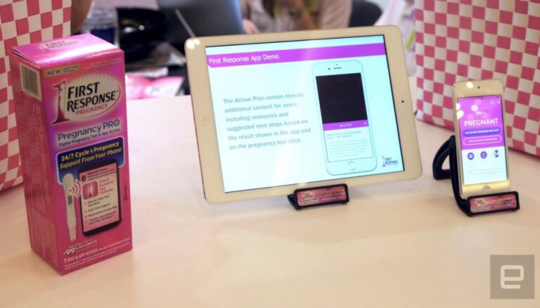 CES-2016: First Response показала первый в мире Bluetooth-тест на беременность