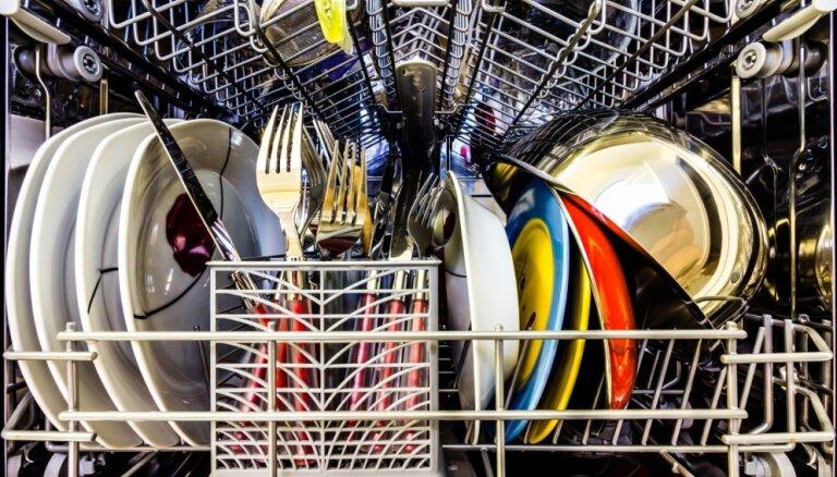 Virtuves piederumi, kurus nav ieteicams mazgāt trauku mašīnā