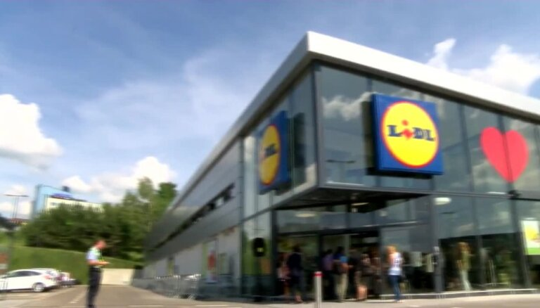 Viļņā atvērts vācu lielveikals 'Lidl'