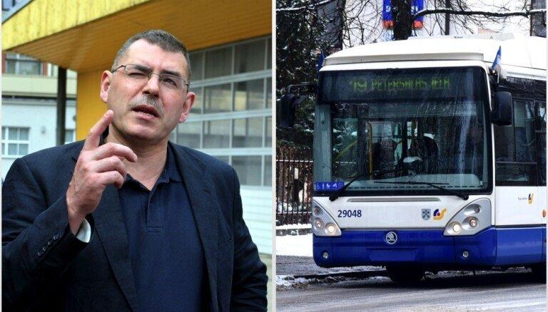 'Rīgas satiksmei' šobrīd maksātnespēja nedraud, pārliecināts Saulītis