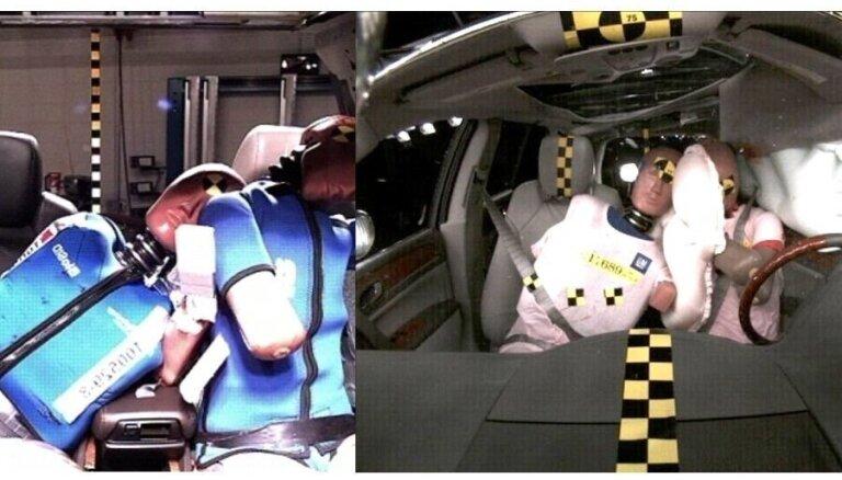 Революционная подушка безопасности спасла пассажиров