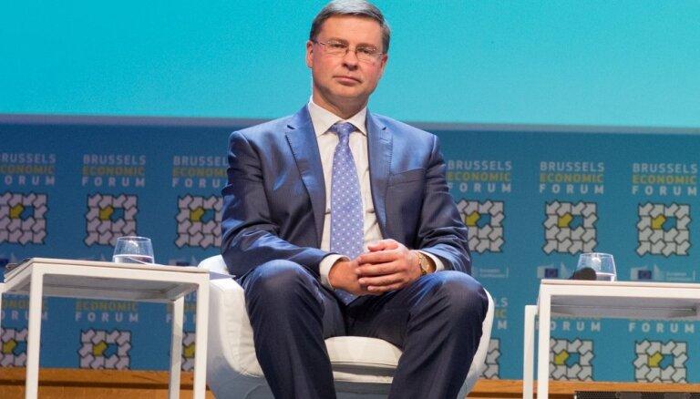 Домбровскис: предоставляемые ЕС возможности оздоровления экономики Латвия использует достаточно успешно