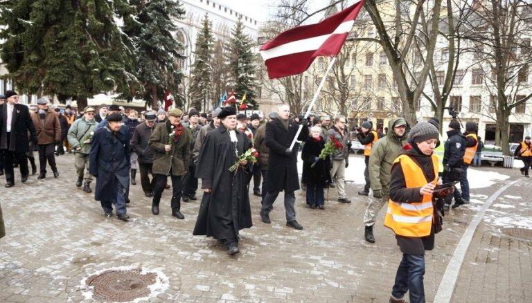 16. martā Rīgā pieteikti divi pasākumi