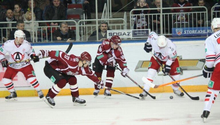 Rīgas 'Dinamo' novirzījās no uzvaru kursa, uzskata Troters