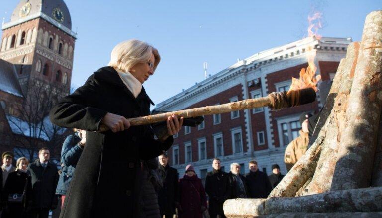 Skaidri zinām, ka Latviju sargāsim vienmēr, uzsver Mūrniece