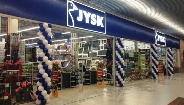 'Jysk' jauna veikala izveidē investē 0,5 miljonus eiro