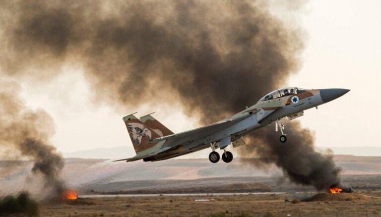 Izraēla apstiprina uzlidojumus Sīrijai