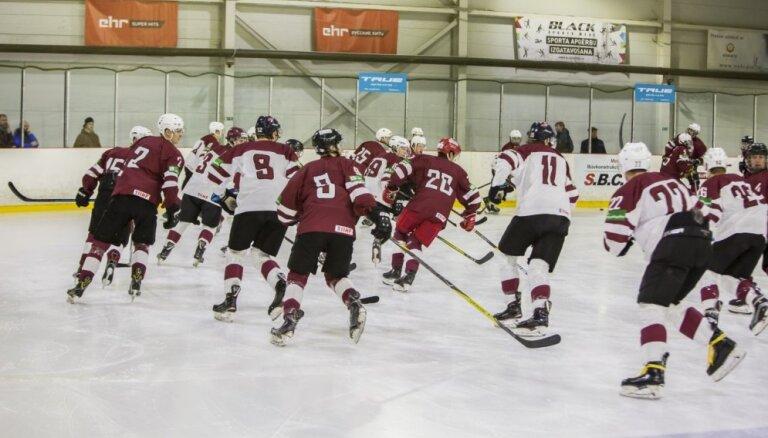 Nosaukts Latvijas U-20 hokeja izlases sastāvs Četru nāciju turnīram Dānijā