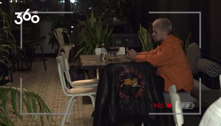 'Astoņi naži un gardēdis': Nauris Brikmanis parandžā satrauc viesmīli