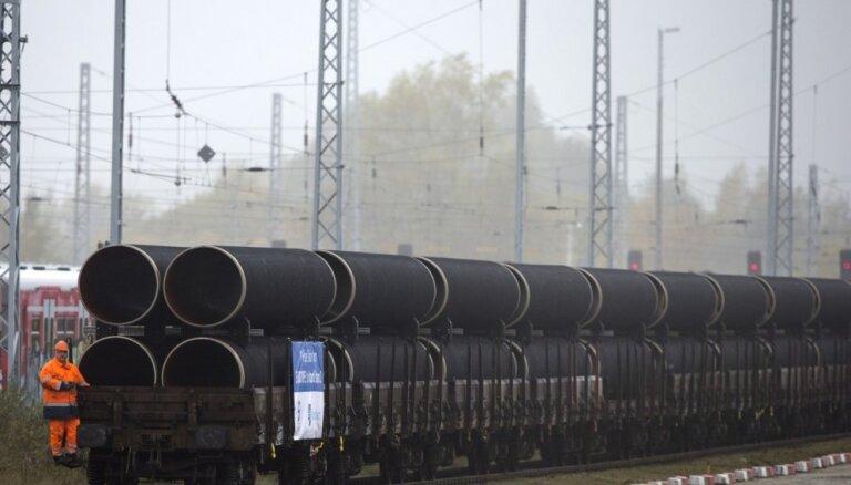 Kremlis: ASV sankciju gadījumā Krievija pati spēs uzbūvēt 'Nord Stream 2'