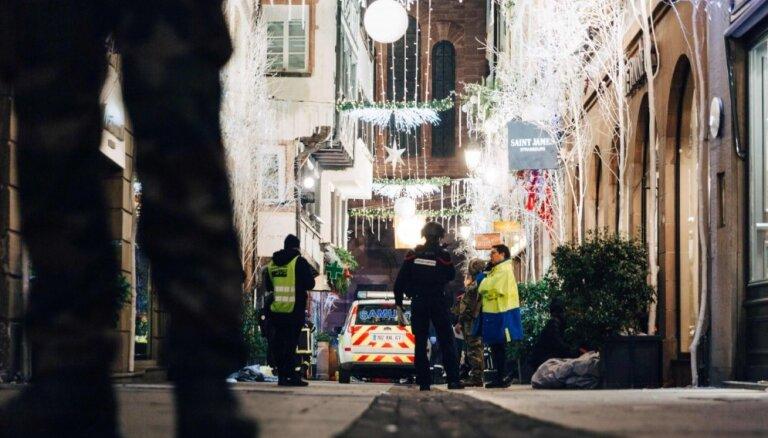Apšaudē Strasbūrā četri bojāgājušie; vismaz 11 ievainoti