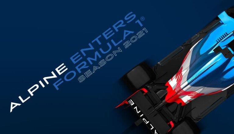 'Renault' F-1 komanda nākamajā sezonā mainīs nosaukumu