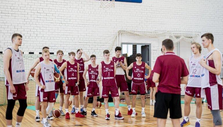 Latvijas U-19 basketbolisti svētdien Lietuvā aizvadīs pirmo pārbaudes spēli