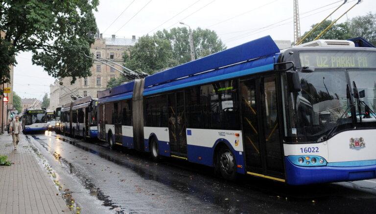 В рижском общественном транспорте — десятки миллионов бесплатных поездок