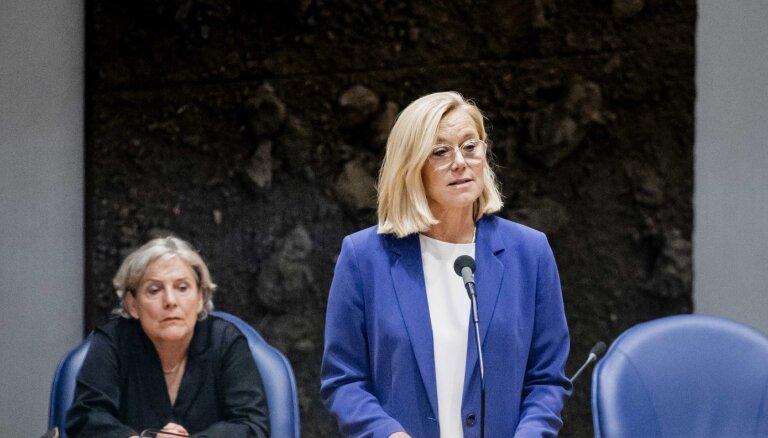 Saistībā ar Afganistānas krīzi atkāpusies Nīderlandes ārlietu ministre