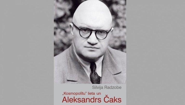 Klajā nākusi Silvijas Radzobes grāmata ''Kosmopolītu' lieta un Aleksandrs Čaks'