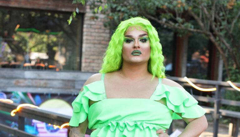 Pašnāvnieciskas domas un pazemojumi: 'drag queen' Amuna atklāj pagātnes pārdzīvojumus