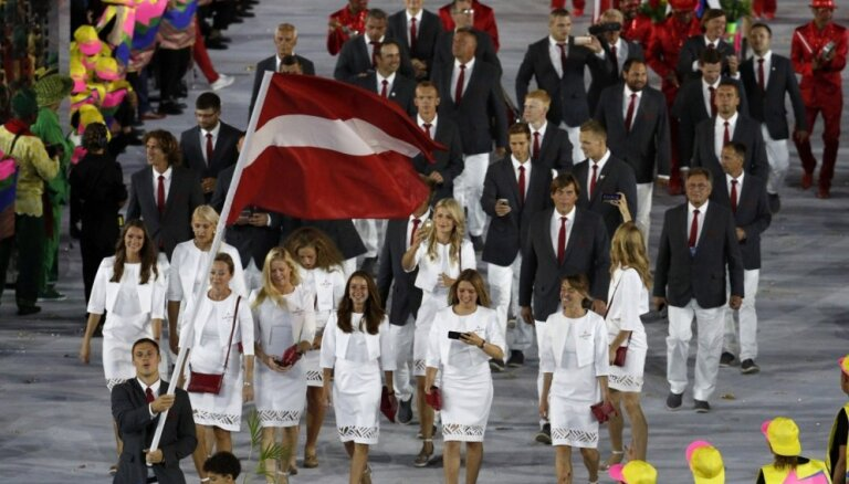 Tokijas olimpiskajās spēlēs Latvijas olimpieši un paralimpieši būs tērpti vienotās formās