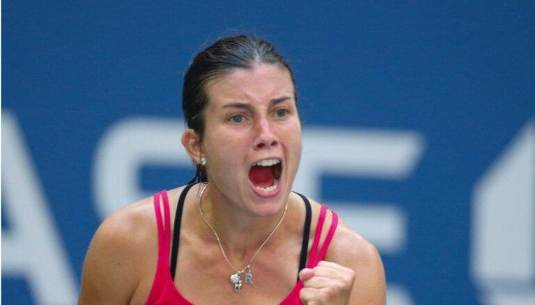 Sevastova pēc veiksmīgā snieguma 'US Open' WTA rangā sasniedz jaunu karjeras rekordu