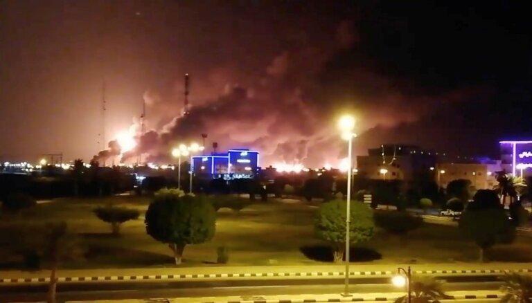 Мировой рынок нефти под угрозой из-за нападения на НПЗ Саудовской Аравии