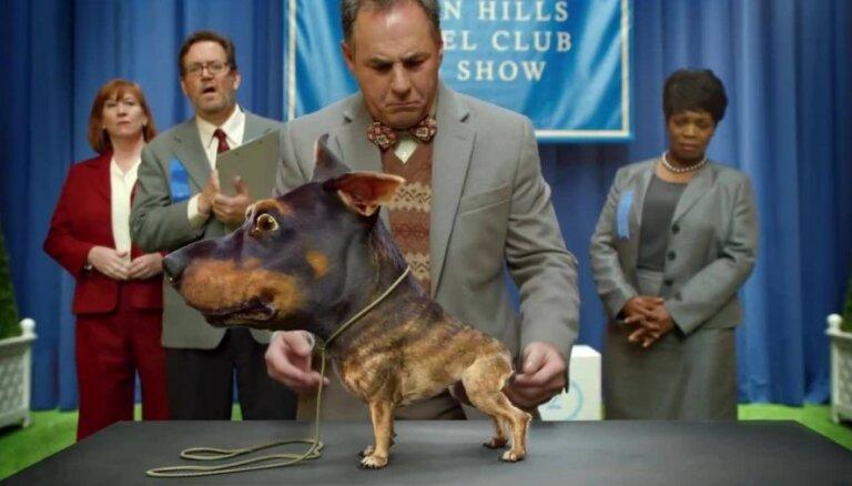 'Audi' reklāmai radīts briesmīgākais suns pasaulē