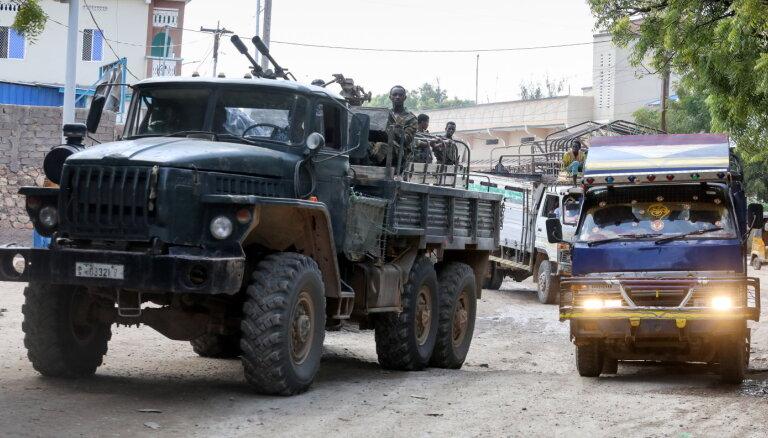 Etiopijas Tigrejā, iespējams, krituši simtiem Somālijas karavīru