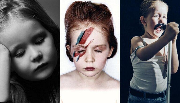 Adele, Bovijs un pat Merkūrijs – mamma un meita atdarina mūzikas albumu vāciņus