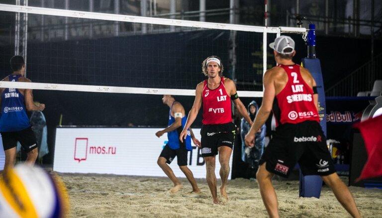 Samoilovs/Šmēdiņš triumfē Pasaules tūres četru zvaigžņu turnīrā
