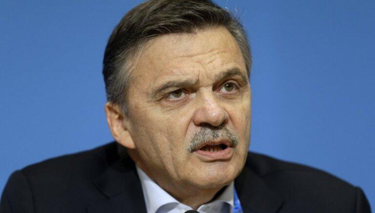 IIHF neplāno pārcelt nākamā gada pasaules čempionāta norises vietu