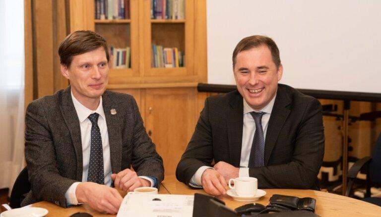 Новый кандидат в министры экономики от KPV LV— Ральф Немиро
