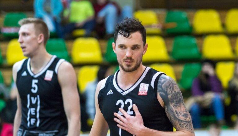 'OlyBet' basketbola līga: 'VEF Rīga' - 'Valmiera glass/ViA'. Spēles pilns ieraksts
