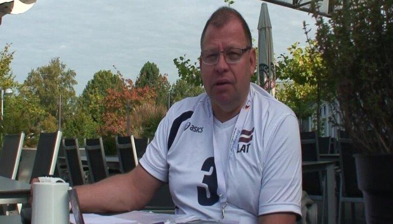 Intervija ar Latvijas sēdvolejbola komandas izlases galveno treneri