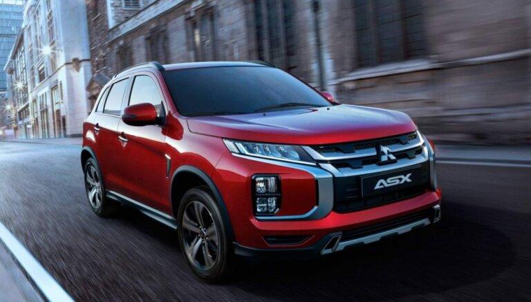 'Mitsubishi' modernizējis 'ASX' apvidnieku