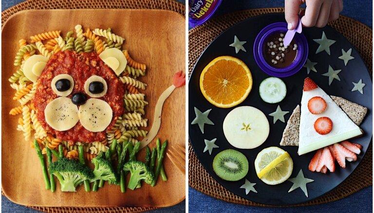 Apēdīs pat griķus! Interesantas idejas, kā bērniem pasniegt ēdienu