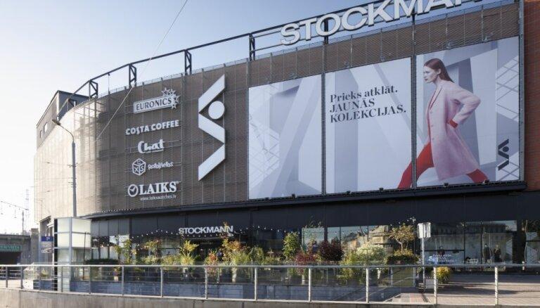 'Stockmann' peļņa pērn - 1,27 miljoni eiro