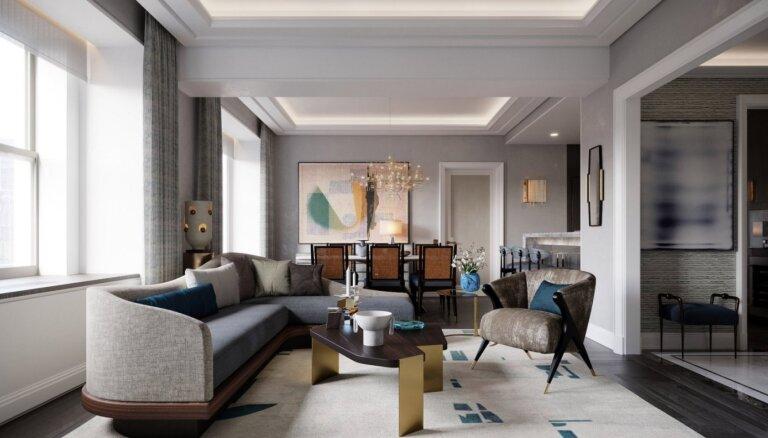 Foto: Otro elpu ieguvusi Ņujorkas ikoniskākā luksusa viesnīca 'The Waldorf Astoria'