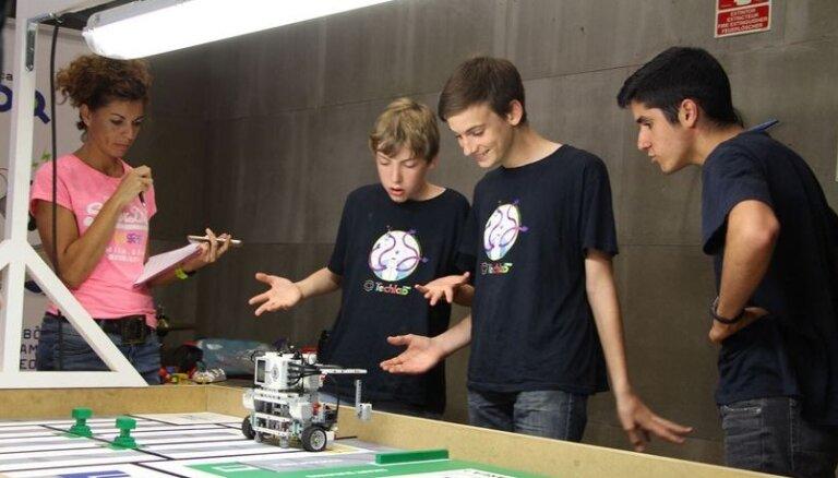 Aicina piedalīties Pasaules Robotu olimpiādes Latvijas nacionālajā atlasē