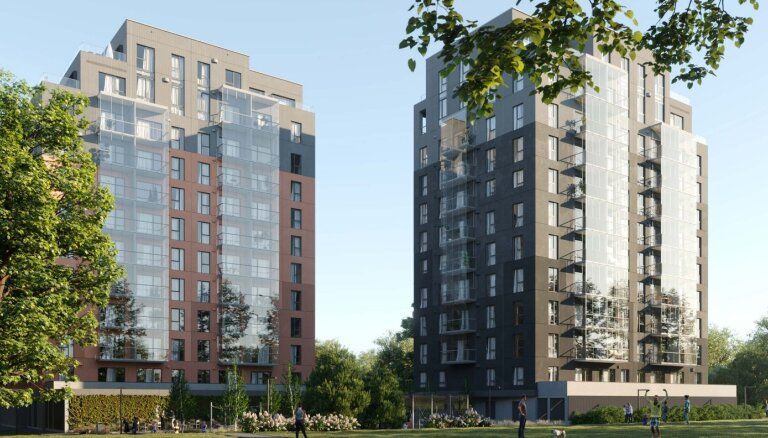 Эстонская компания Kaamos начинает в Латвии строительство жилого комплекса MoHo Park