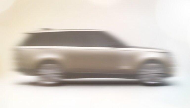 'Land Rover' sniedz ieskatu par jauno 'Range Rover' modeli