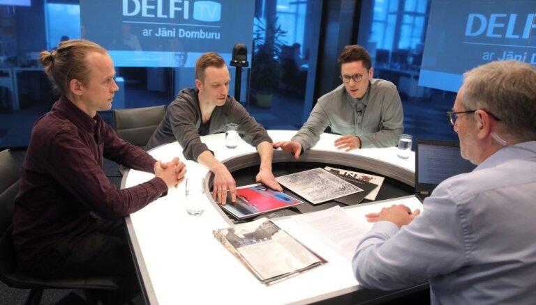 'Delfi TV ar Jāni Domburu' atbild grupa 'Instrumenti'. Pilns ieraksts