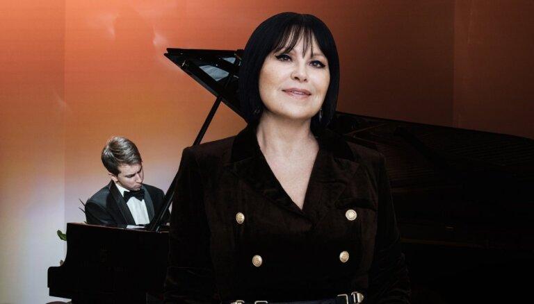 Inese Galante un jaunais pianists Daumants Liepiņš koncertēs 'Lielajā dzintarā'
