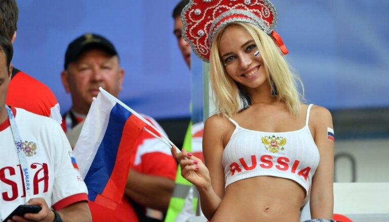 """Раскрыта правда о """"самой красивой российской болельщице"""": это не порнозвезда"""