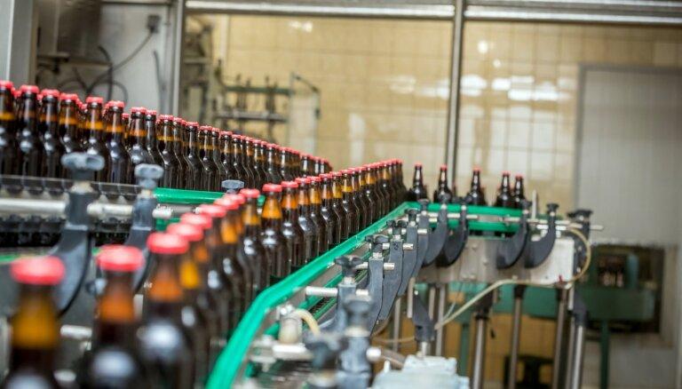 Foto: 'Bauskas alus' ļauj ielūkoties savā ražotnē
