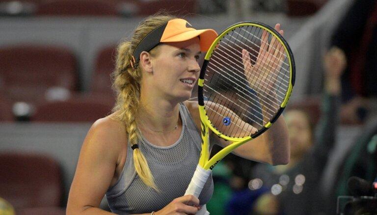 Bijusī WTA ranga līdere Vozņacki noslēgs tenisistes karjeru