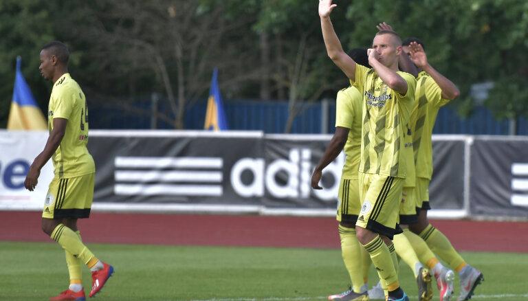 'Ventspils' futbolisti sper platu soli pretī UEFA Eiropas līgas atlase trešajai kārtai