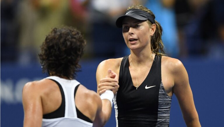 В 1/8 финала US Open потерпели поражения экс-чемпионы — Шарапова и Федерер