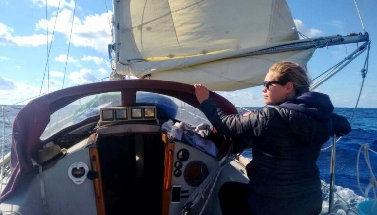 На другой край Земли: как латышка Зане несколько лет провела под парусом в море