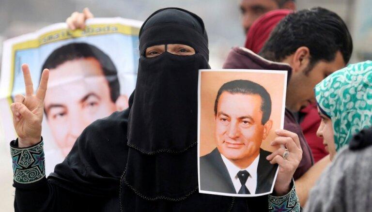 Tiesa attaisno Ēģiptes gāzto prezidentu Mubaraku