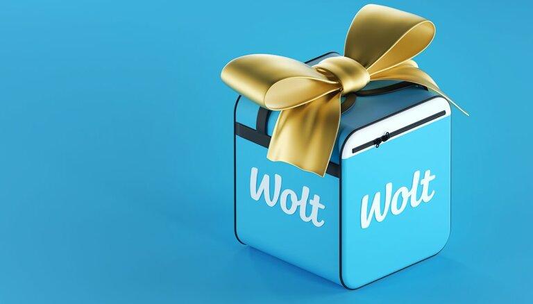 'Wolt' bezmaksas piegādes no izvēlētiem restorāniem