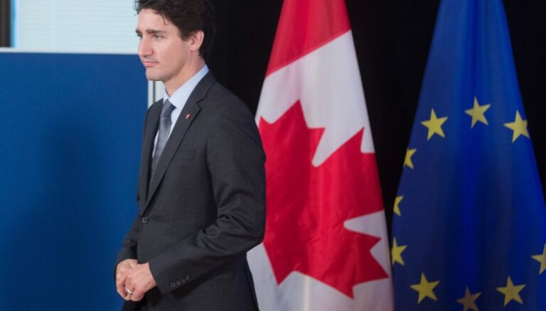 Kanādas premjers brīdina par iespējamu Krievijas iejaukšanos gaidāmajās parlamenta vēlēšanās